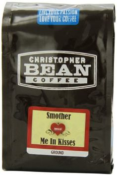 Christopher Bean Coffee Ground Flavored Coffee, Smother Me In Kisses, 12 Ounce - http://hotcoffeepods.com/christopher-bean-coffee-ground-flavored-coffee-smother-me-in-kisses-12-ounce/
