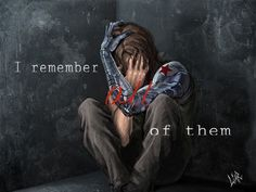 "Tony: ""Do you remember them?!"" // Bucky: ""I remember all of them."" Edit by @Danae Berkgren"