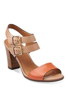 2c005f2f8aec05 Clarks block heel sandals for  120 Shoes Heels Boots