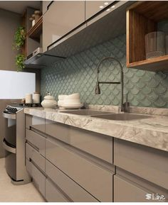 ideas bedroom small apartment entryway for 2019 Small Kitchen Backsplash, Modern Kitchen Cabinets, Kitchen Furniture, Modern Kitchen Interiors, Modern Farmhouse Kitchens, Home Kitchens, Kitchen Room Design, Kitchen Cabinet Design, Kitchen Decor