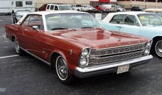 1966 Ford Galaxie 500 2-dr hardtop coupe