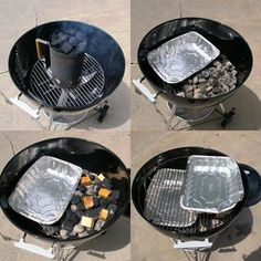 Don& want to buy a smoker when you already have a Charcoal Grill? I don& blame you. Here& how to use your charcoal grill and smoke traditional barbecue. Charcoal Smoker, Best Charcoal Grill, Charcoal Bbq, Charcoal Grill Smoker, Barbecue Weber, Barbecue Ribs, Bbq Grill, Clean Grill, Grill Grates