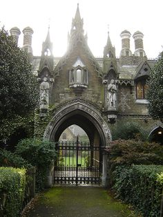 This will be the back entrance to our castle, the one you access by navigating our enchanted gardens and hedge maze.