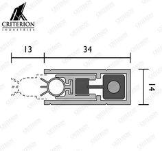RP8 Base Seal Timber Door, Door Seals, Base, Doors, Gate