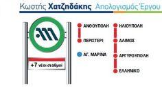 Η καθημερινότητα γίνεται καλύτερη με τα έργα, όχι με τα λόγια. Όταν ήμουν στο Υπουργείο Μεταφορών τέθηκαν σε λειτουργία οι σταθμοί του μετρό σε Ανθούπολη και Περιστέρι και ολοκληρώθηκαν άλλοι 5 νέοι σταθμοί σε Ηλιούπολη, Άλιμο, Αργυρούπολη, Ελληνικό και Αγία Μαρίνα στο Χαϊδάρι. Χιλιάδες πολίτες μετακινούνται πλέον χωρίς ταλαιπωρία, ενώ οι περιοχές αυτές αναβαθμίστηκαν ουσιαστικά.