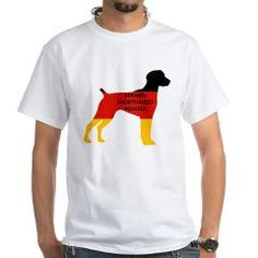 gsp name flag silhouette T-Shirt > German Shorthaired Pointer > Paw Prints