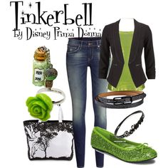 DisneyBound Casual   fashion look from December 2013 featuring BKE tops and H&M jeans ...