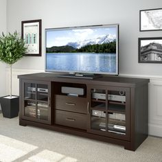 CorLiving TWB-692-B West Lake TV Stand