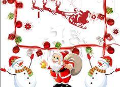 3D Santa Claus and Snowman Printed Cotton 4-Piece White Bedding Sets/Duvet Covers