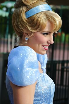 The first thing I am going to do when I go to Disneyland is meet my favorite Princess Cinderella. <3