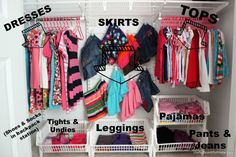 Amazing! Concepts for Kids – 10 Tips for Organizing a Child's Closet ~ Day