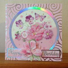 Hunkeydory flower card