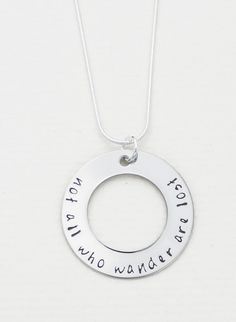 Adult humor, Hand stamped necklace and Hand stamped