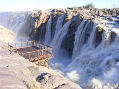Augrabies Waterfalls in the Northern Cape province of South Africa African Countries, Countries Of The World, Augrabies Falls, Provinces Of South Africa, Out Of Africa, Africa Travel, Live, Continents, Places To See