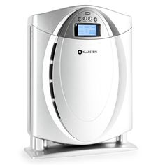 KLARSTEIN Grenoble Air Purifier • Ionizer • 3 Speed Settings • Timer • HEPA Filter • LCD Display • Allergen Remover • Odor Neutralizer • Silver *** You can get more details by clicking on the image. (This is an affiliate link) Mobile Air Conditioner, Room Humidifier, Air Purifier Reviews, Home Air Purifier, Fans For Sale, Bathroom Exhaust Fan, Air Conditioning Units, Cordless Vacuum Cleaner, Hepa Filter