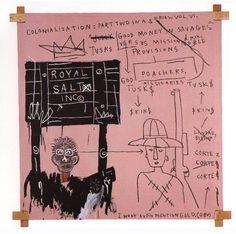 manufactoriel:    Colonization, Pt 2, by Jean-Michel Basquiat   [!!!]