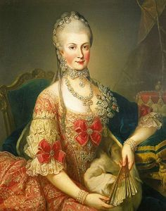 Archduchess Maria Christina of Austria, Duchess of Teschen, circa 1765