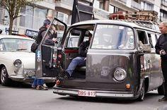 VW Van with door in front