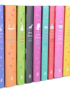 Puffin Classics Books for Young Readers (Set of 10) by Juniper Books LLC at Gilt
