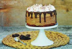 Cream Cake, Ice Cream, Chocolate Meringue, Something Sweet, Yummy Cakes, No Bake Cake, Beautiful Cakes, Parfait, Mousse