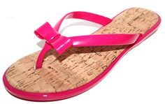 GH Bass Women's Ava Jelly Flip Flops Sandals w/ Cork Insole and Bow *** Details can be found by clicking on the image. This Amazon pins is an affiliate link to Amazon.
