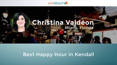 What is the best #happyhour in #Kendall? https://wikirealty.com/