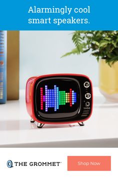 Tivoo Mini is a desktop smart pixel clock and Bluetooth speaker that fits your lifestyle and keeps you up to date. The retro-inspired design can deliver notifications, play music, and, yes, wake you up in the morning. Customize the LED screen with your own pixel art to make it as unique as your day. Laser Cutter Ideas, Laser Cutter Projects, Pixel Design, Cool Tech Gadgets, Cool Technology, Android 4, Circuit Board, Cool Items, Linux
