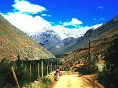 La niña del burrito, Valle del Elqui, Alcohuaz, Chile