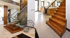 Zebrano Staircase in New Construction Home - Railings and Stairs Ottawa