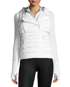 3-in-1 Satin Packable Moto Jacket & Vest