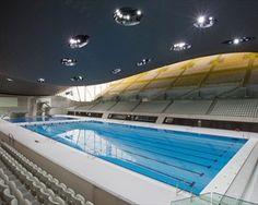 Zaha Hadid's London olympic aquatic centre