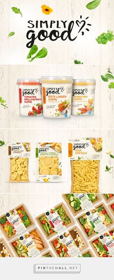 Simply Good packaging design by Serviceplan - http://www.packagingoftheworld.com/2017/02/simply-good.html