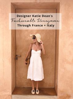 European Adventure: Designer Katie Dean's Fashionable Honeymoon Through France + Italy - Green Wedding Shoes