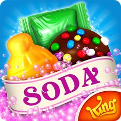 Start playing Candy Crush Soda Saga today – already enjoyed by millions of players around the world! Candy Crush Soda Saga is the divine puzzle game from King, the makers of Candy Crush Saga, Farm Heroes Saga and more! Switch and match candies to create 3 in a row, or match 4 (or more) to