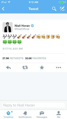 I'm Irish but don't kiss me... Unless you are in one direction, 5sos, or are a magcon boy