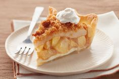 Apple-Pear Crumble Pie recipe from Kraft Foods Kraft Foods, Kraft Recipes, Pear Recipes, Healthy Recipes, Pudding Desserts, Pie Dessert, Dessert Recipes, Pastries Recipes, Kabob Recipes
