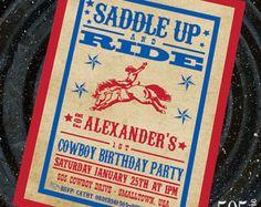 Cowboy Birthday Decorations Cowboy Party by AmandasPartiesToGo