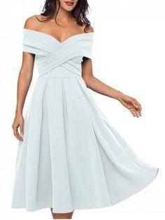 GET $50 NOW | Join RoseGal: Get YOUR $50 NOW!https://m.rosegal.com/vintage-dresses/cross-front-open-shoulder-prom-dress-1967473.html?seid=9778517rg1967473