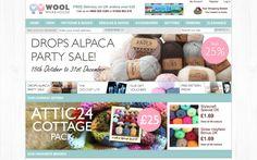 Tiendas on-line donde comprar lanas