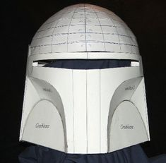 Boba Fett Helmet Blueprints/Templates