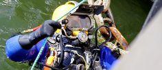 Underwater Wet Welding Inspection: Prepped and Ready Underwater Welding Salary, Career Training, Diving, Helmet, Commercial, Adventure, Underwater Welding, Underwater, Scuba Diving