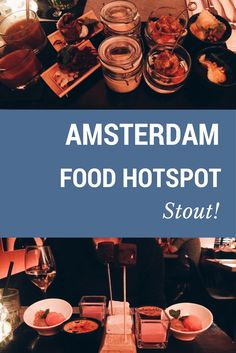 As promised in my Amsterdam guide, I am sharing with you this amazing restaurant: Stout! A must visit if you are going around Amsterdam. Amsterdam Guide, Amsterdam Food, Restaurant, Amazing, Blog, Travel, Viajes, Diner Restaurant, Destinations