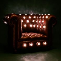 Glowing Lightbulb Club Chair - Lee Broom - disco life?