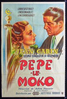 1937 - PEPE LE MOKO - Julien Duvivier - (Argentina)
