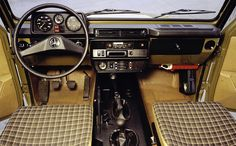 Mercedes G W460 Interior