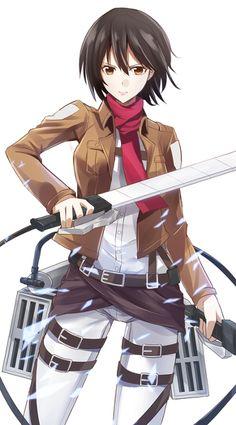 Shingeki no Kyojin - Mikasa