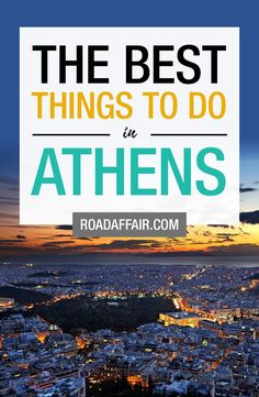 Discover the best things to do in Athens, Greece. Beautiful Places To Travel, I Want To Travel, Romantic Travel, Mykonos Greece, Athens Greece, Crete Greece, Santorini, Athens Acropolis, Parthenon