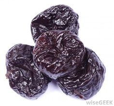 The process of drying plums to make prunes is thought to have originated thousands of years ago in an area near the Caspian Sea.  http://www.healerslounge.com.au/forum/showthread.php/1632-Prune-Sweet-with-a-deep-taste-and-a-sticky-chewy-texture!