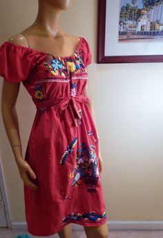 mexican dress embroidered dress off the shoulder by stilettoRANCH