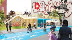 HAO / Holm Architecture Office with VM Studio Wins Manhattan Skate Park Competition